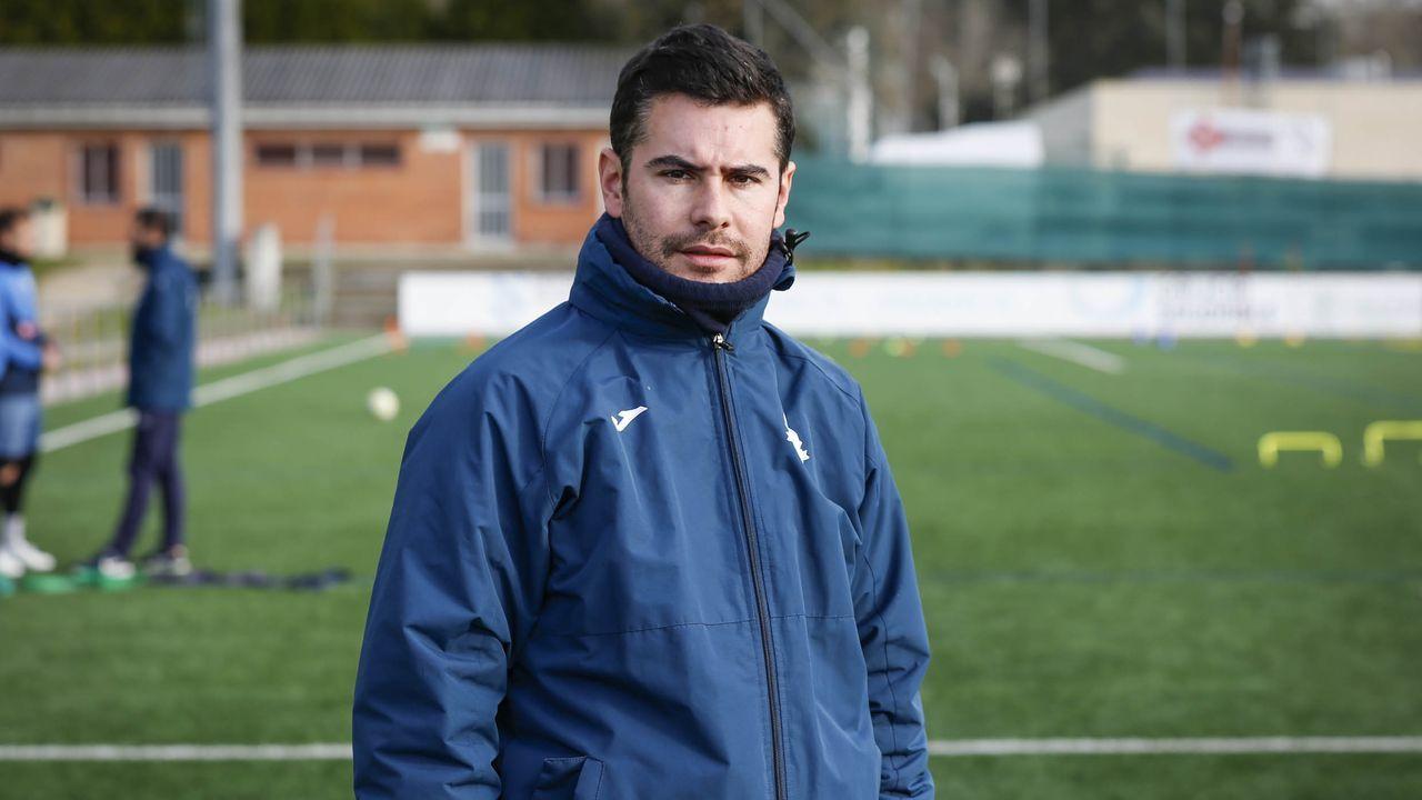 Fran Justo, técnico del Ourense CF