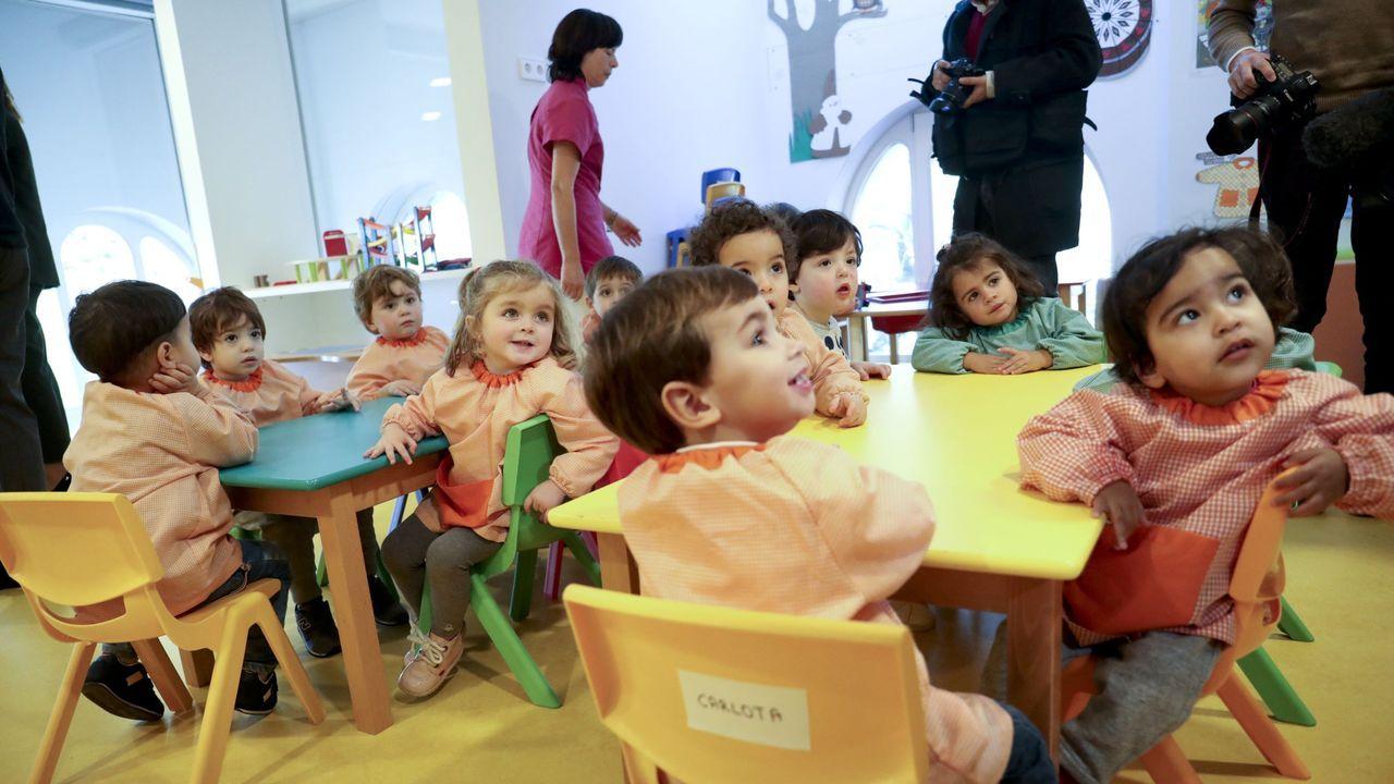 Escuela infantil de la Xunta de Santa Susana, en Santiago