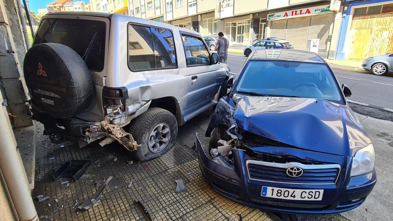 Un vial que pone en peligro a los peatones.Imagen del accidente mortal del pasado marzo en Salceda. En lo que va del 2021 hubo en Galicia 58 accidentes con muertos o heridos y en 4 de ellos los conductores dieron positivo en alcohol