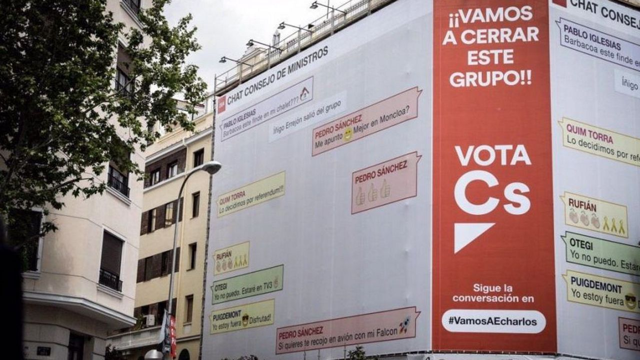 Rivera acepta «todos los debates que quieran, donde quieran».Fernando Martínez Vidal