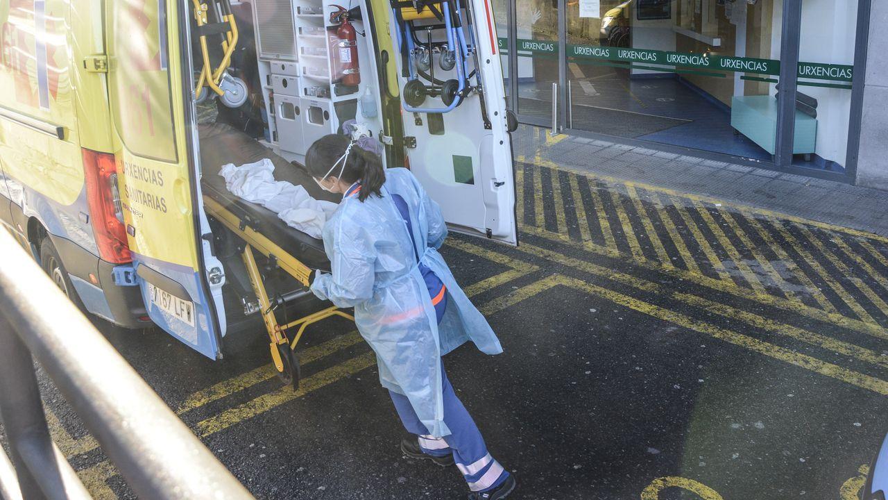 En el hospital Montecelo hay este martes 31 pacientes covid ingresados en planta, y once graves en unidades de críticos