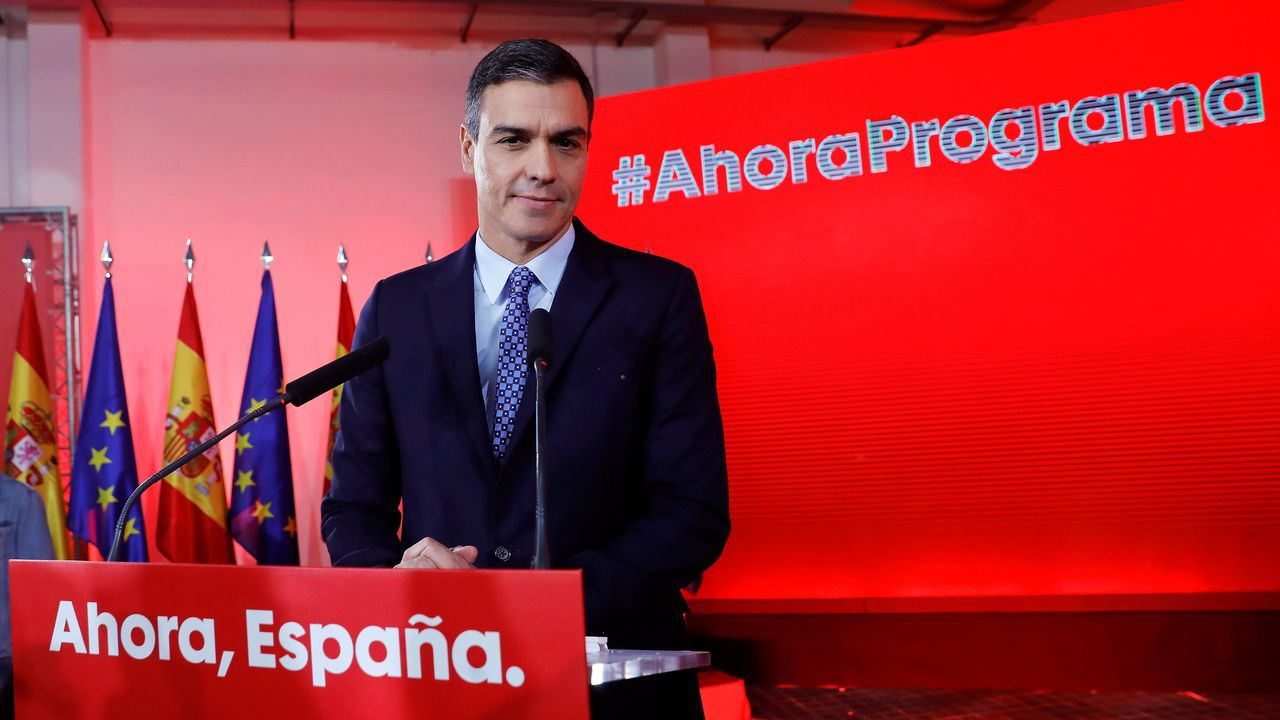 Los encerrados de Veuvius cuentan su encuentro con los reyes.El presidente del Gobierno en funciones y candidato socialista, Pedro Sánchez