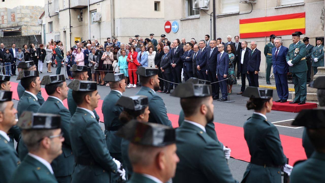 ACTO INSTITUCIONAL CASTRENSE DEL DÍA DEL PILAR.La Guardia Civil recordó, como siempre, en un sentido homenaje a los que dieron su vida por España