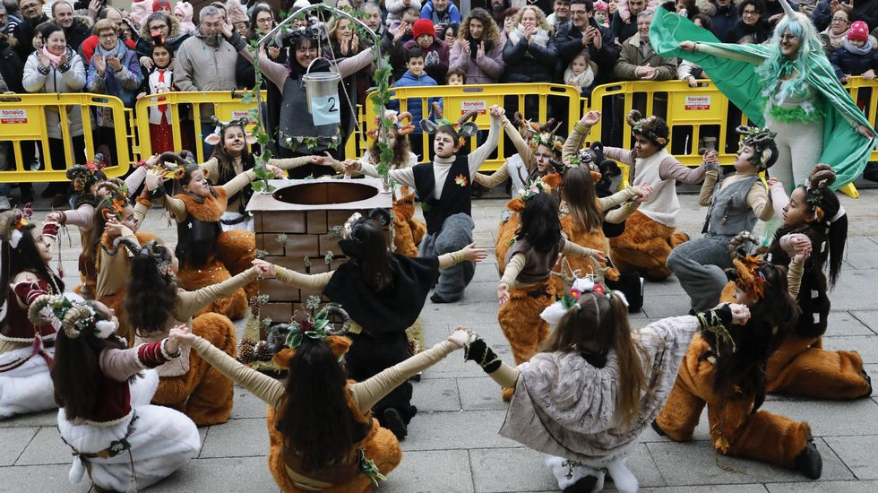 Desfile de Carnaval en Lugo