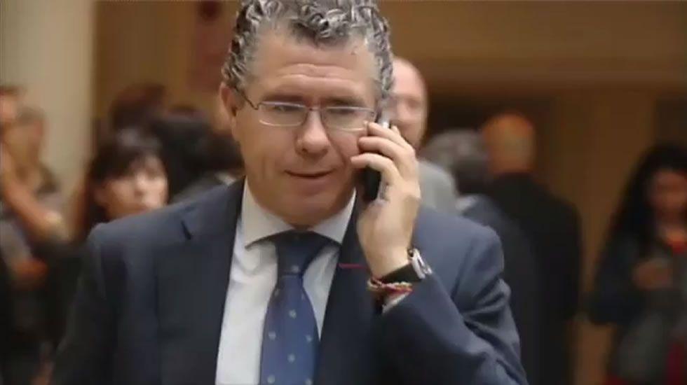 Granados al juez: «No tengo un solo euro fuera de España».Diego Cervero