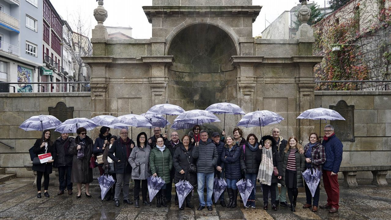 Vinte lectores de La Voz gozaron este sábado de As Burgas