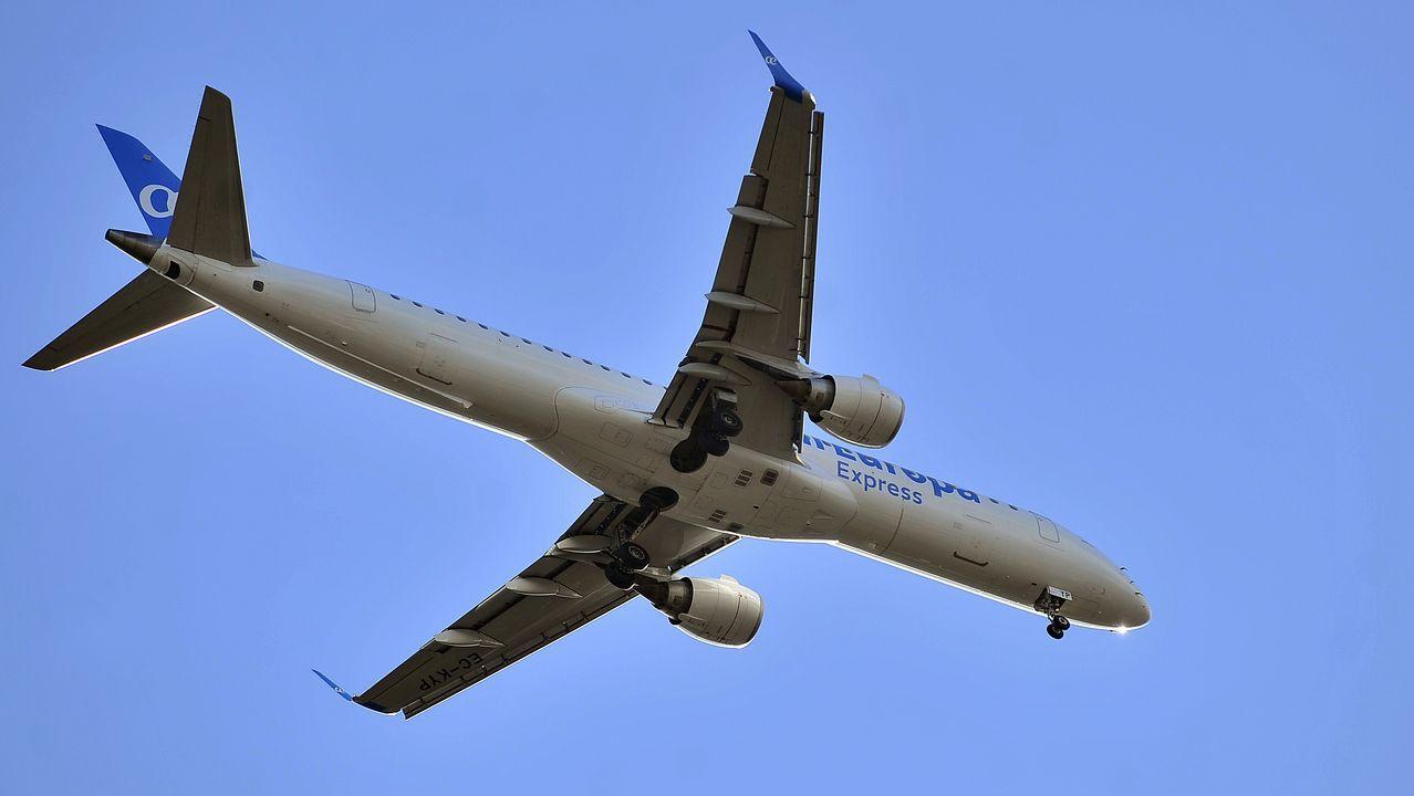 avión air nostrum.Alvedro