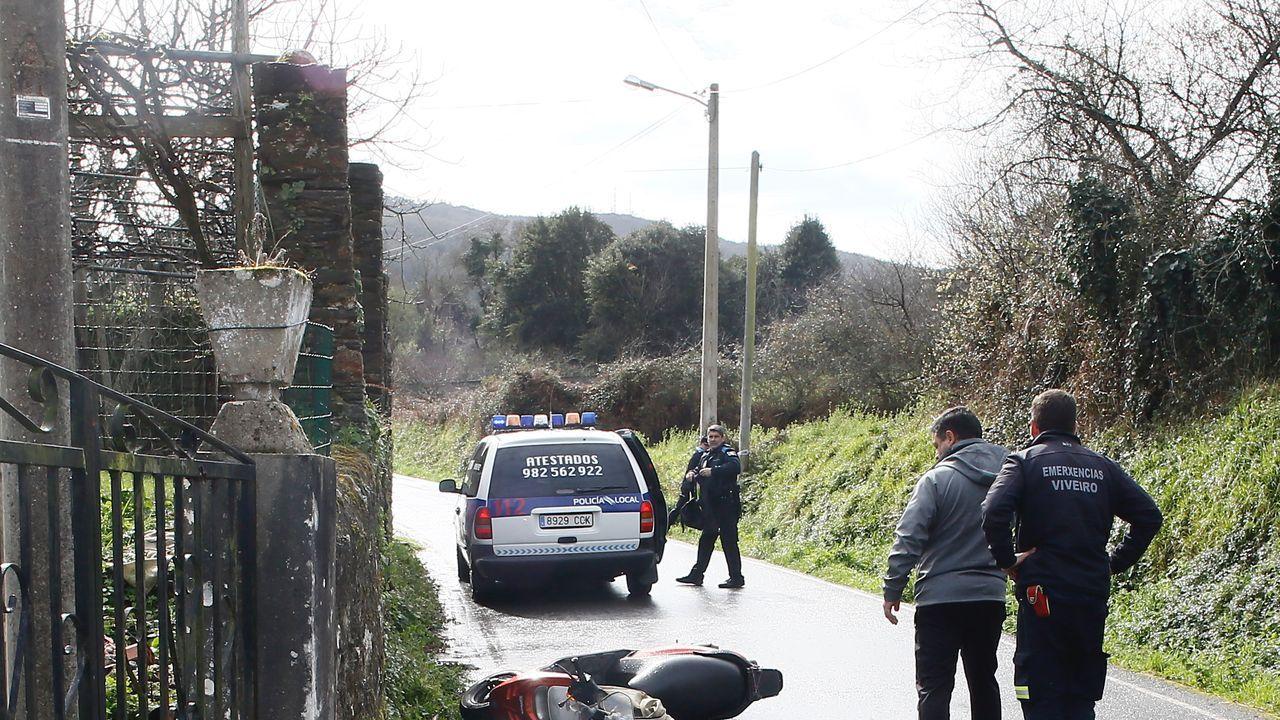 El sexagenario perdió la vida en Portochao cuando, equipado con el casco obligatorio, pilotaba un ciclomotor