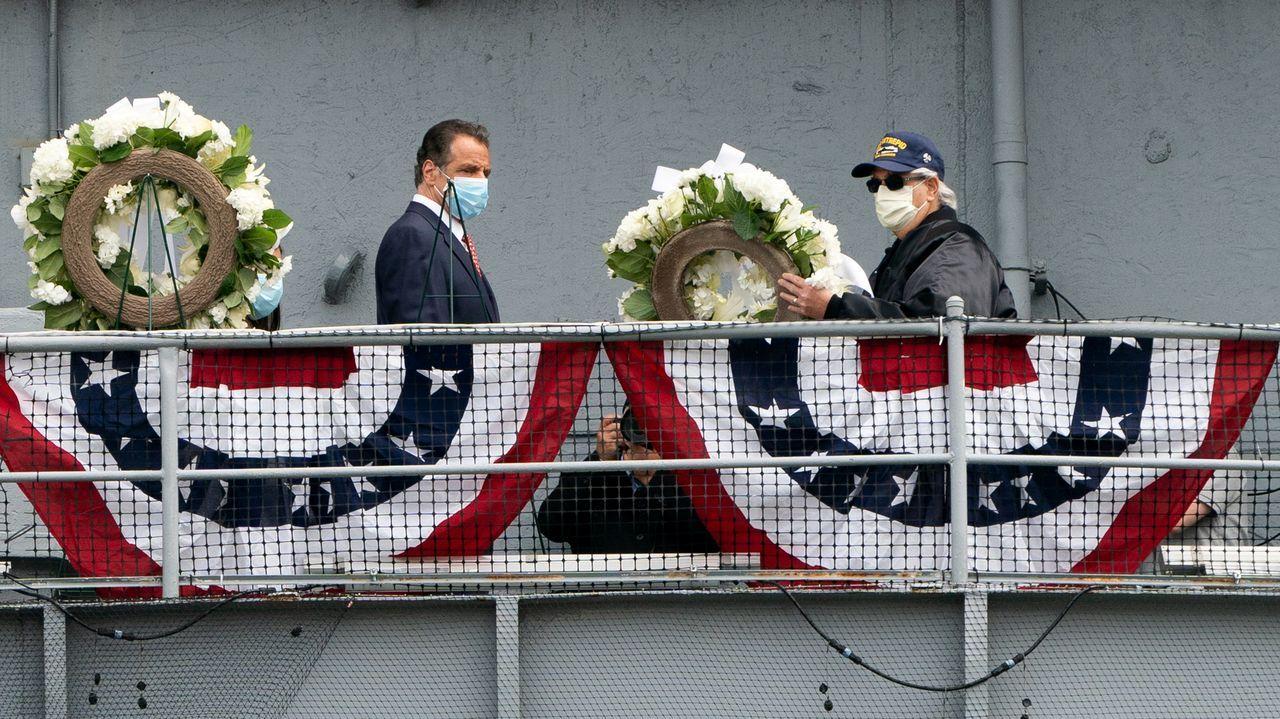 Andrew Cuomo hizo el anuncio durante un acto en el Día de los Caídos