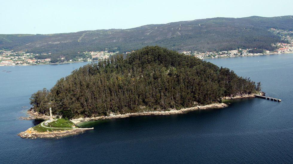 Tambo, historia y paisaje en el fondo de la ría de Pontevedra.A la Antonio de Escaño se incorporaron estos días más de 800 alumnos de manera escalonada