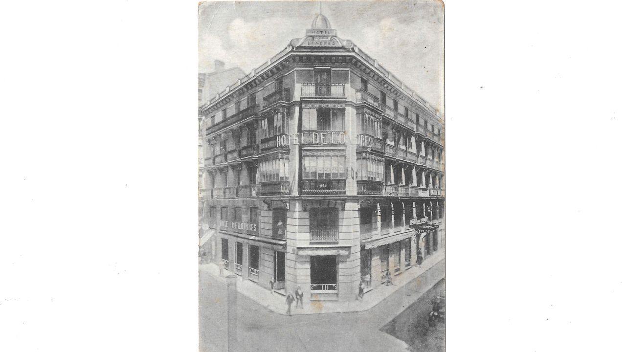 El hotel de Londres se encontraba en la madrileña calle Preciados