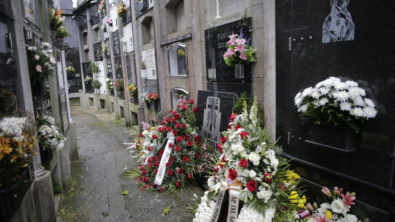 artabra.Cementerio de San Pedro de Nós en Oleiros