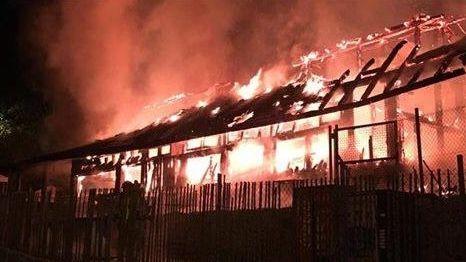 El incendio de A Chavasqueira se declaró en la madrugada del 24 de abril del 2019