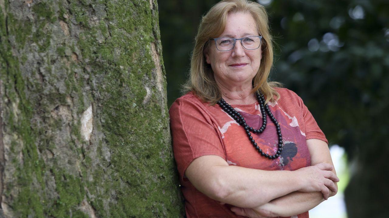 Teodora Vásquez está libre tras once años en prisión por un aborto.Cementerio El Salvador de Oviedo.