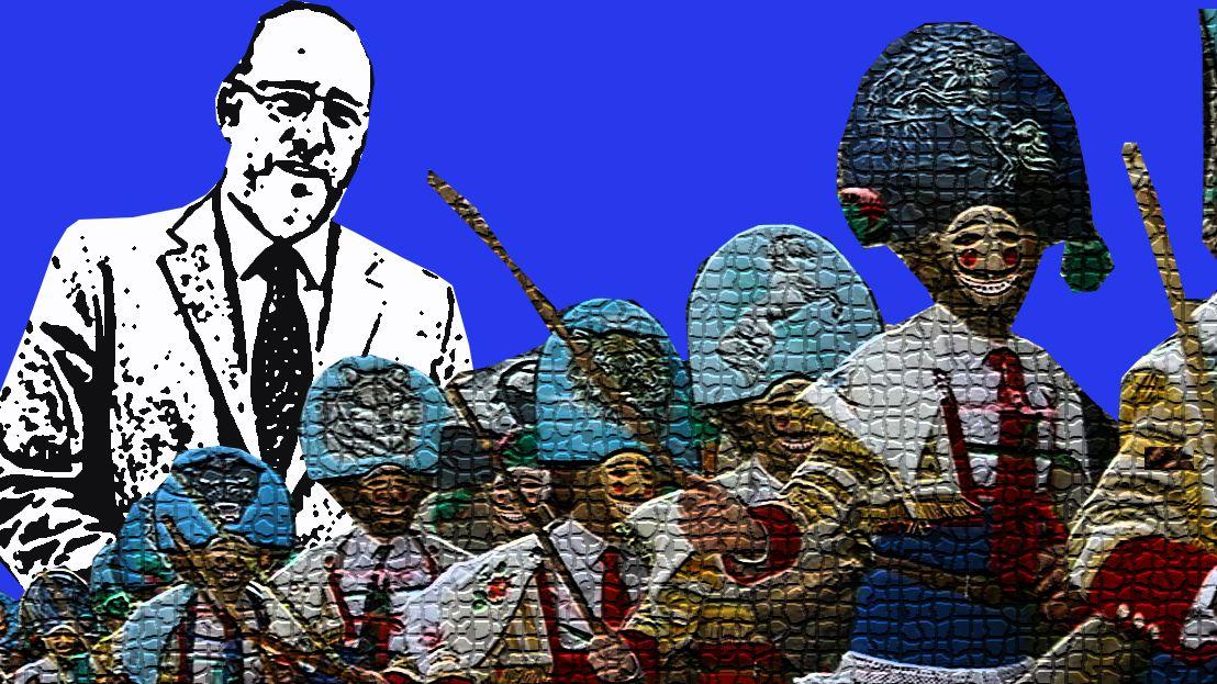 Asturias recibe más vacunas por «el comunismo».Ignacio Cuesta, candidato de Ciudadanos a la alcaldía de Oviedo, con el secretario de Organización de Ciudadanos, Fran Hervías