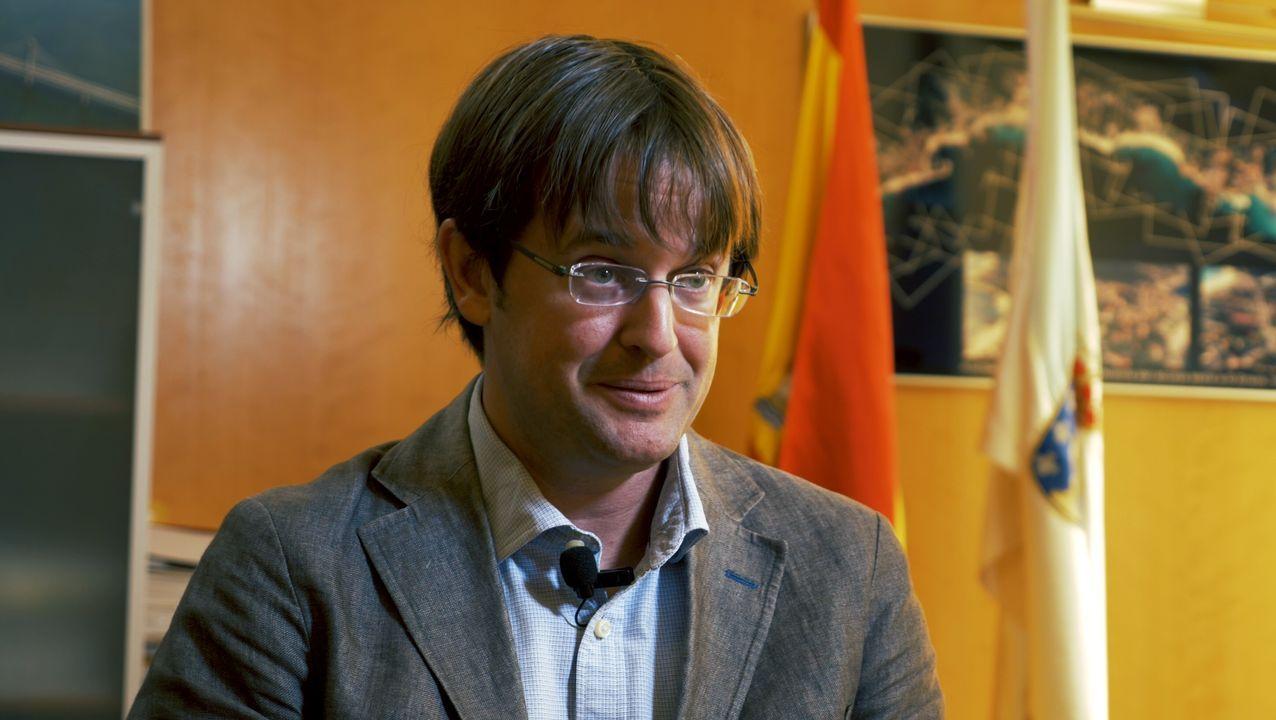 En el documental también participa el director de la Axencia Galega de Infraestruturas, Francisco Menéndez