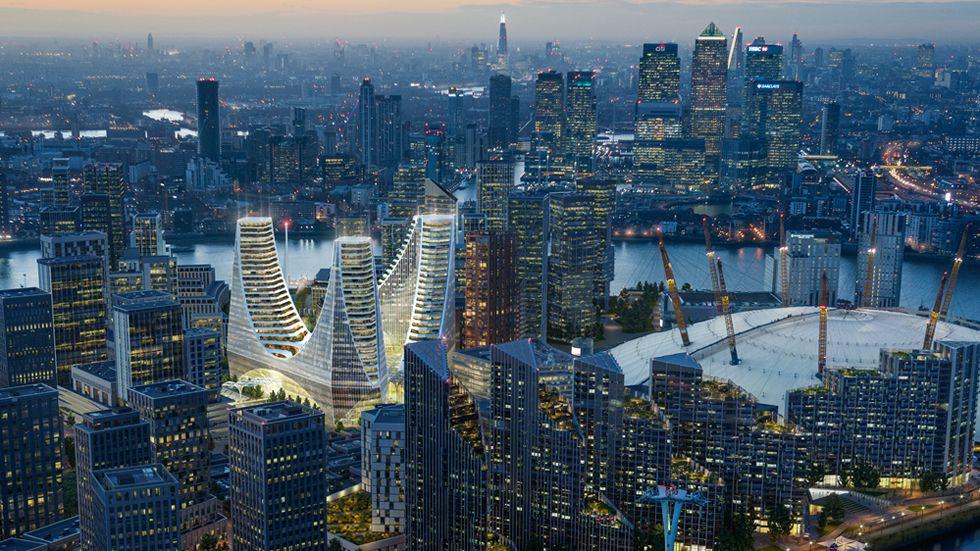 Calatrava anuncia su primer proyecto en Londres, «síntesis» de toda su carrera.Inundaciones en la Variante de Pajares