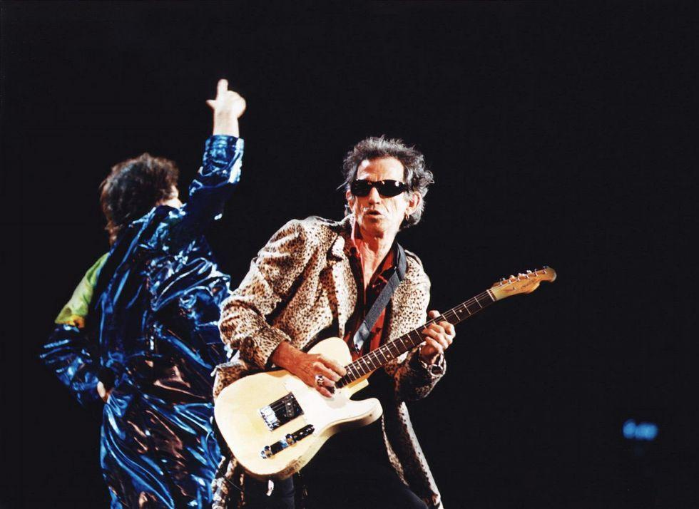 Concierto de los Rolling Stones en Balaídos en 1998