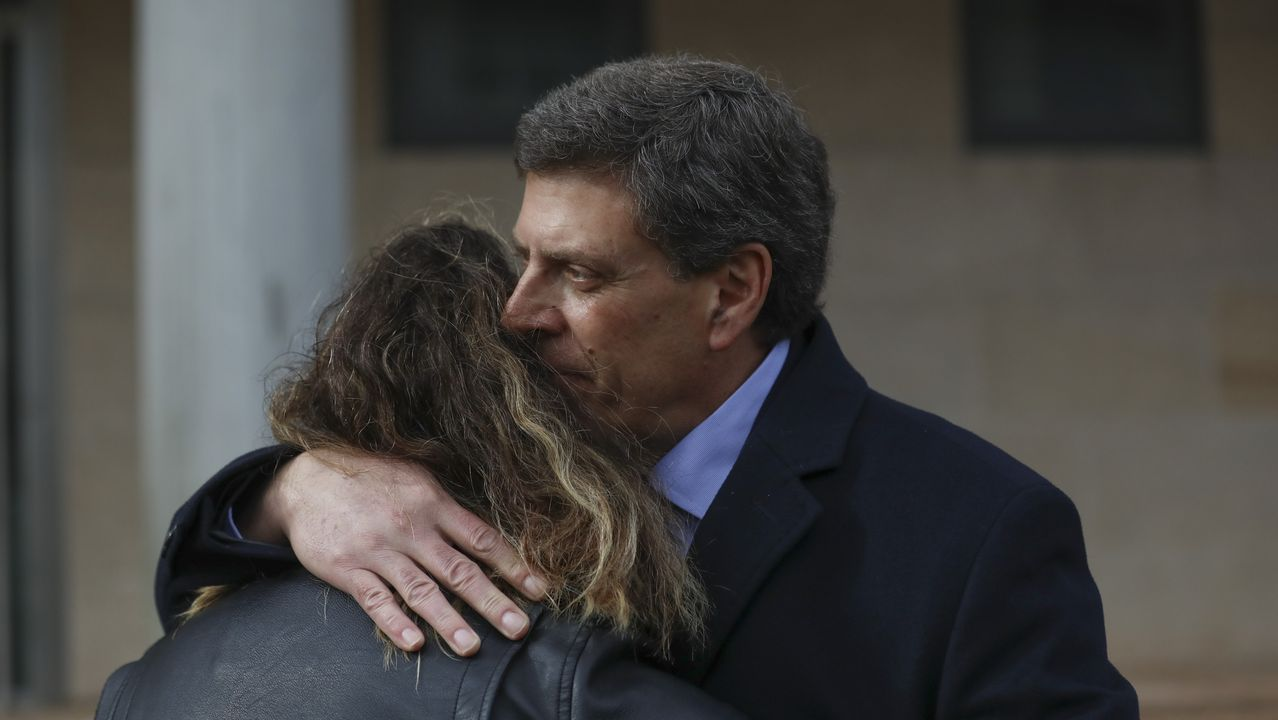 Diana López-Pinel en la penúltima jornada de juicio