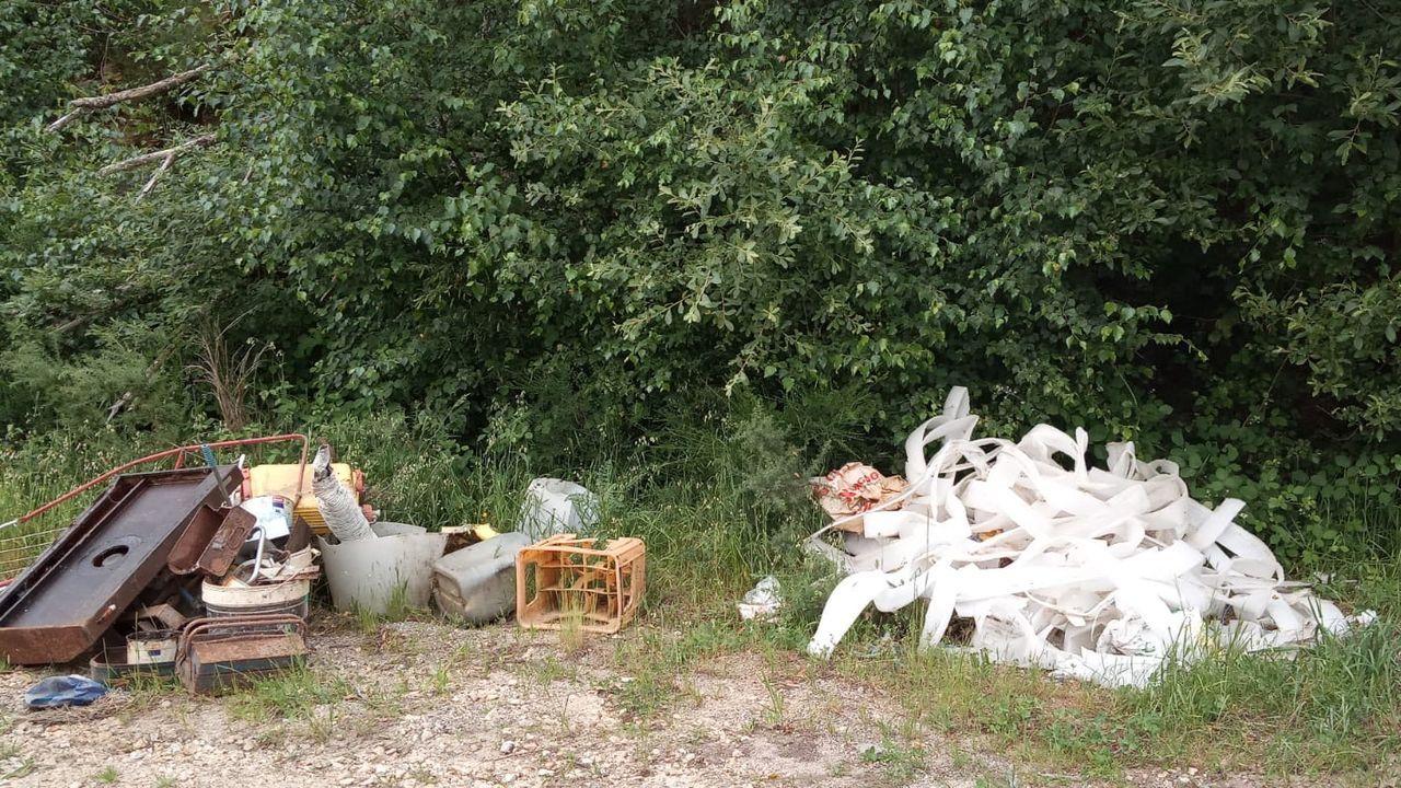 Obras del área de Medio Rural del Concello de Lugo en Bocamaos