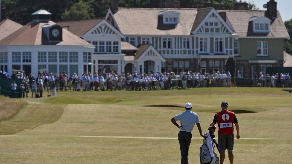 Vista del club de Muirfield