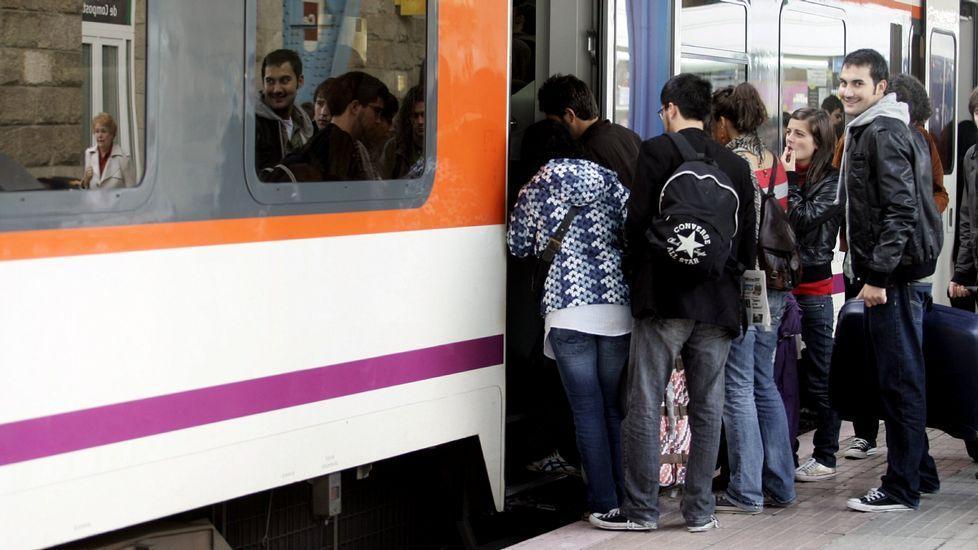 La estación de Santiago (en una imagen de archivo) es uno de los puntos más conflictivos.