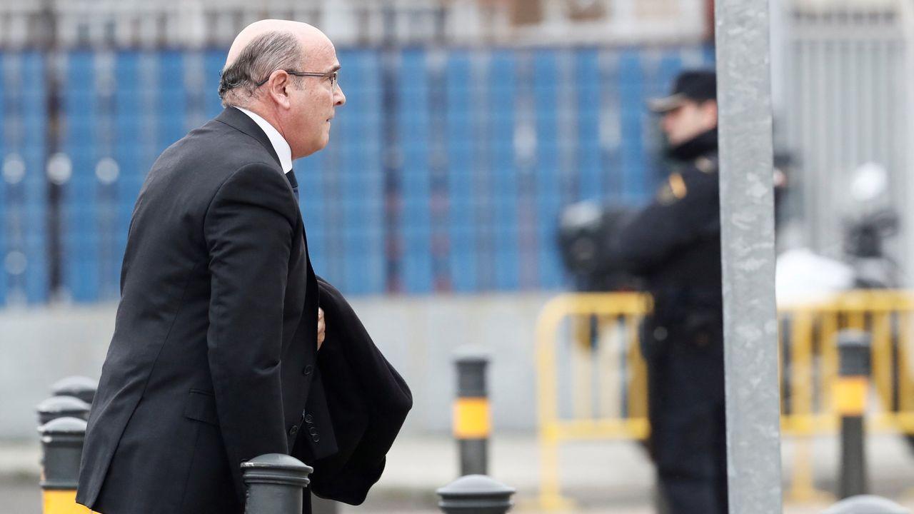 Carmen Avendaño, 30 años a pie de calle.Diego Pérez de los Cobos, en una comparecencia judicial en Madrid