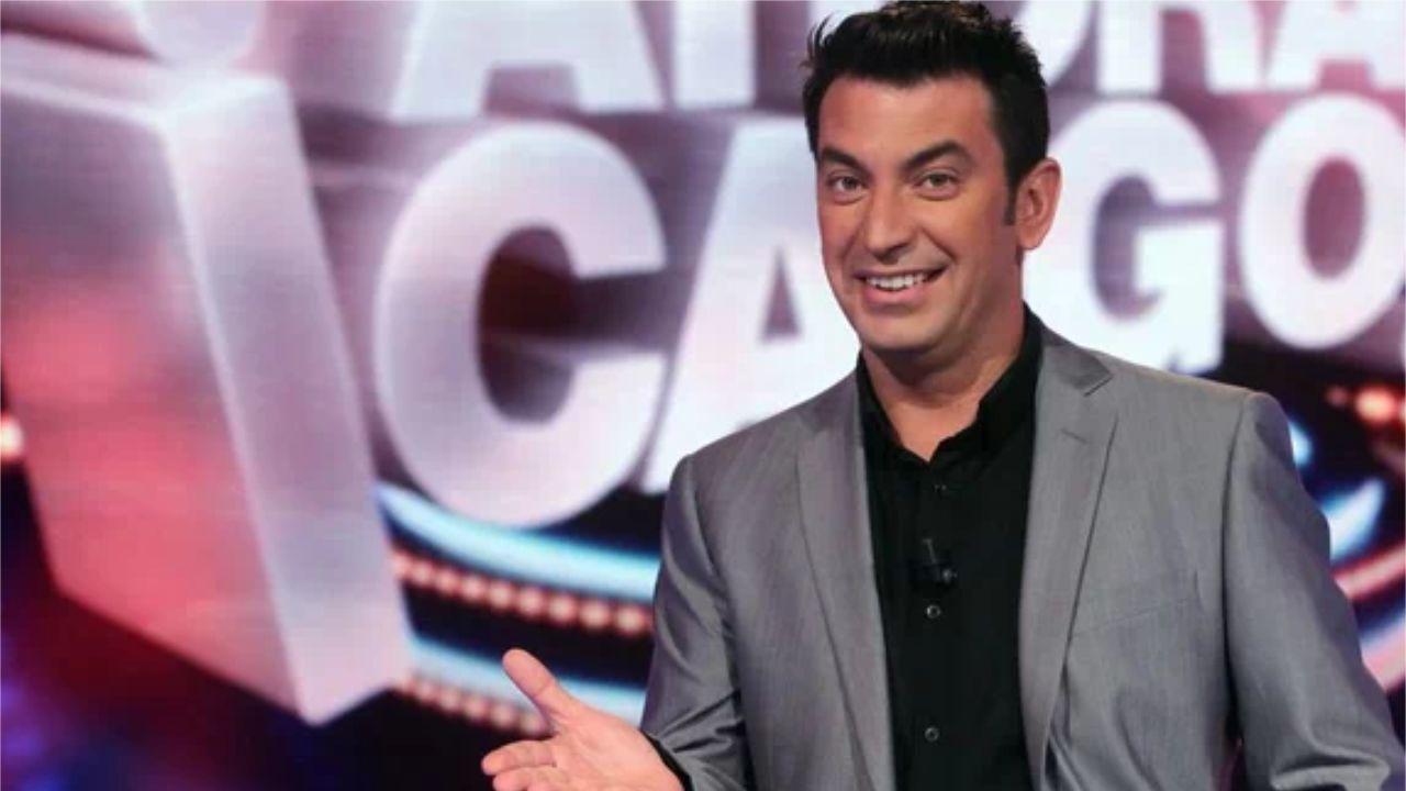 El presentador de «Ahora caigo» Arturo Valls