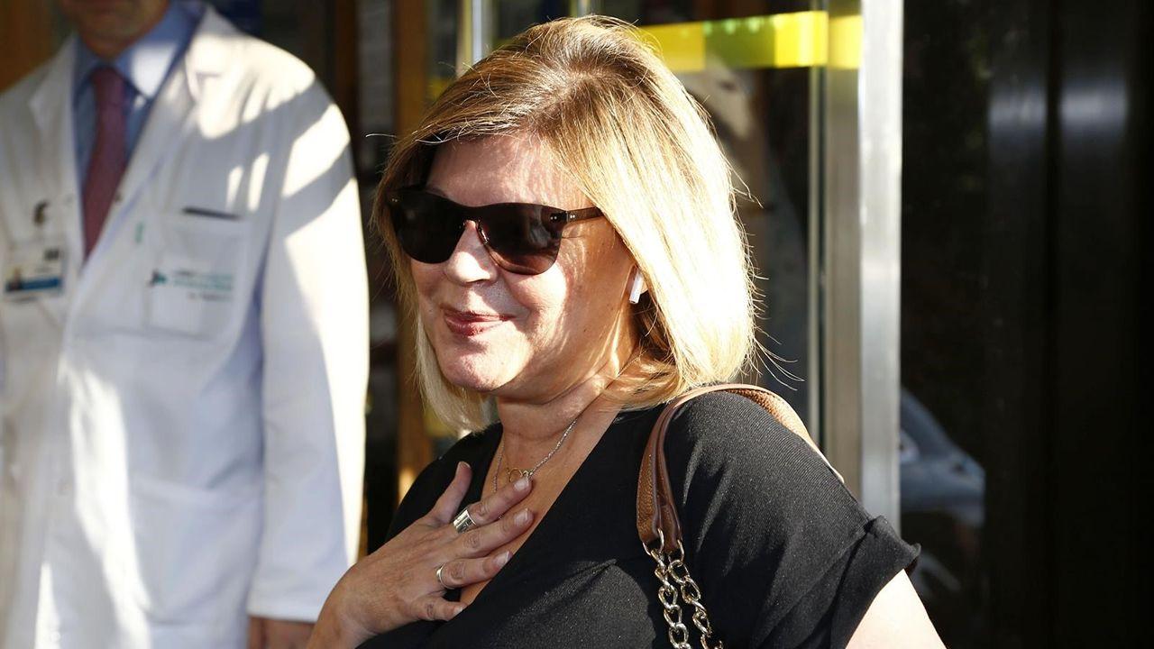 Terelu Campos dispuesta a hacerse una doble mastectomía.Instalación de una terminal móvil en el muelle de San Diego para la llegada de un trasatlántico