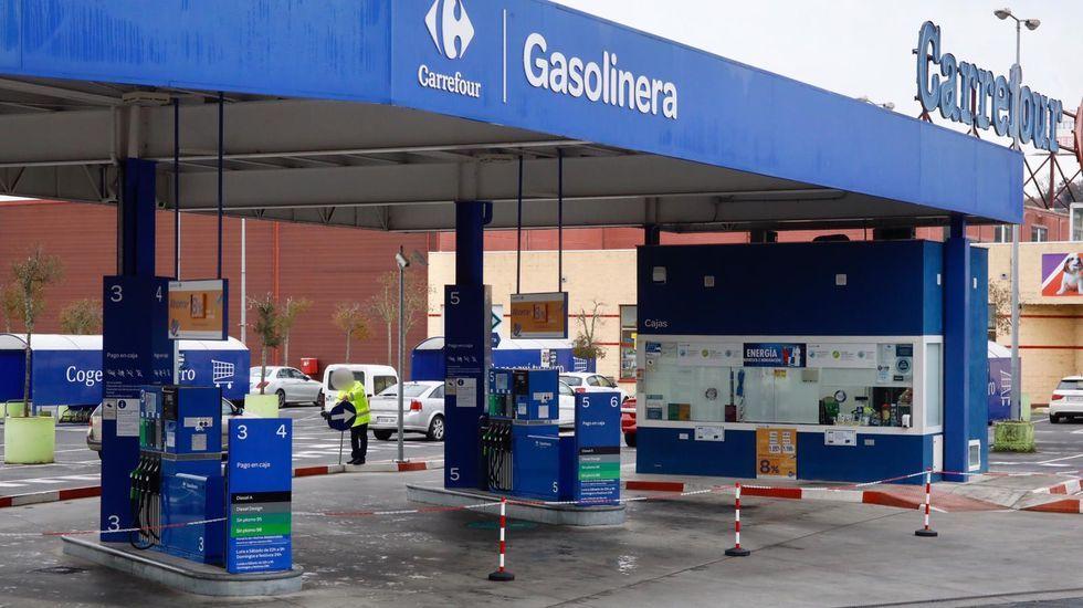 La gasolinera amaneció cerrada