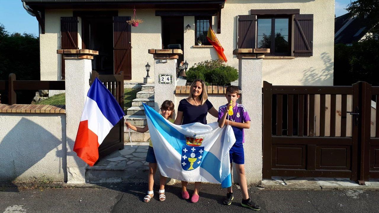 Familia francogallega que vive cerca de París