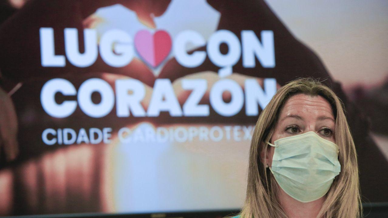 La alcaldesa de Lugo, Lara Méndez, pidió responsabilidad a los lucenses