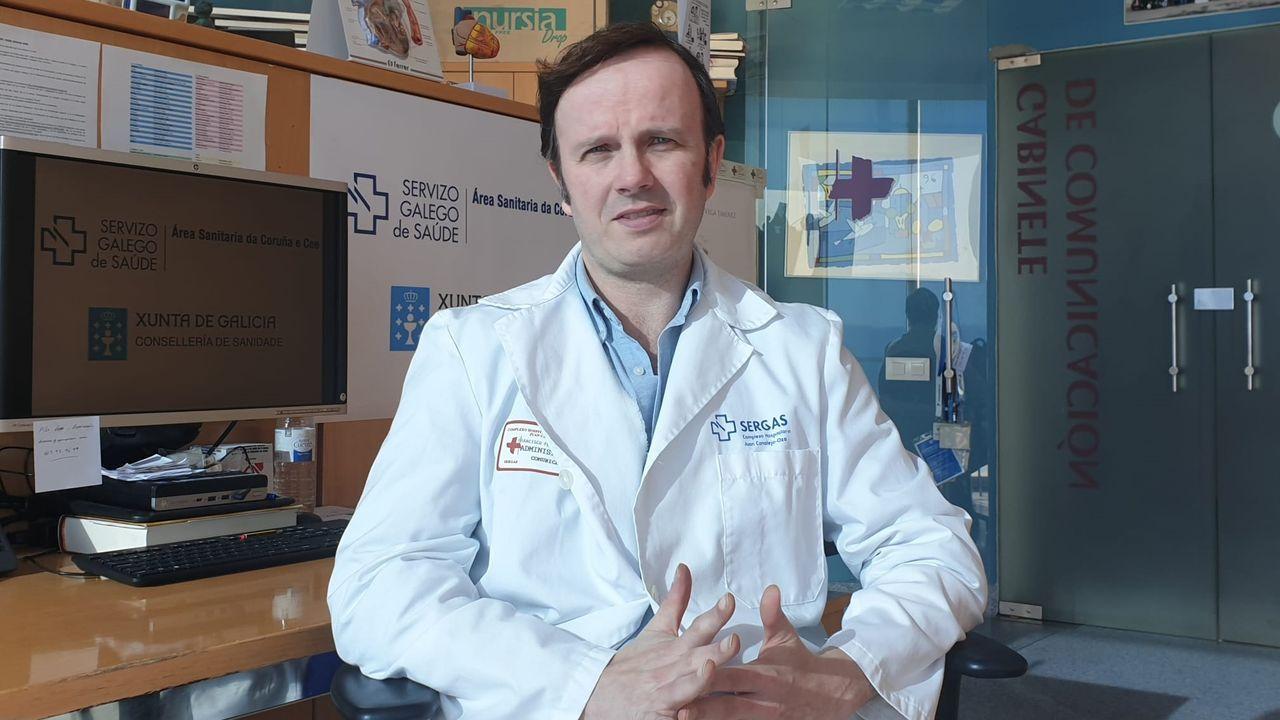 Antón Acevedo, epidemiólogo del Chuac