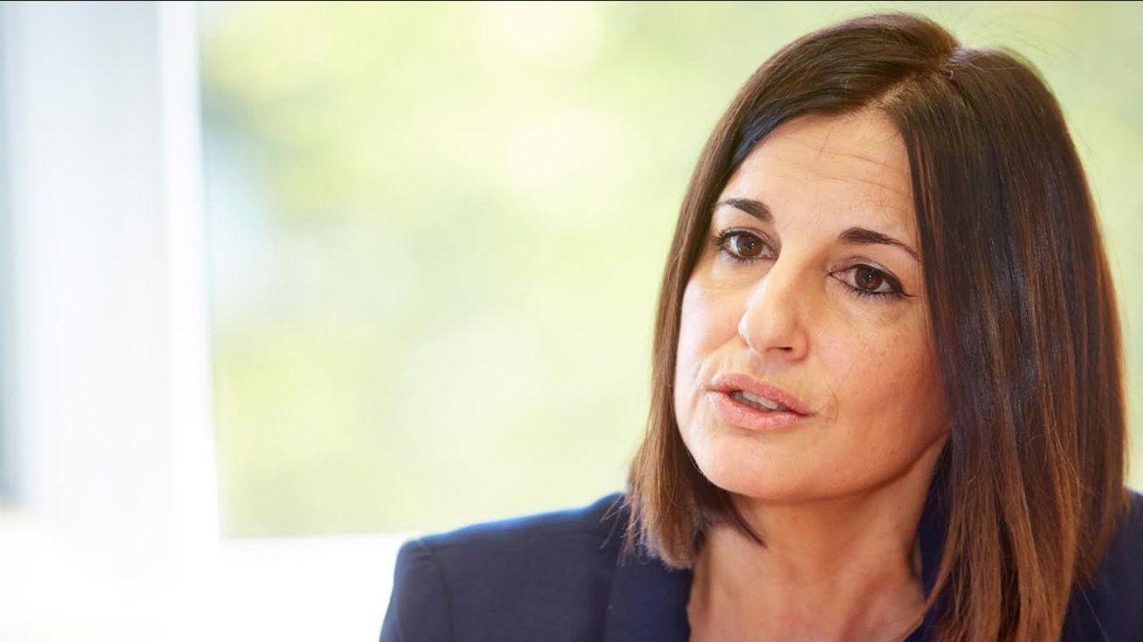 Afectados por la modificación del pacto de contratación del Sespa.Ana Suárez Guerra, gerente del organismo público Establecimientos Residenciales para Ancianos (ERA)
