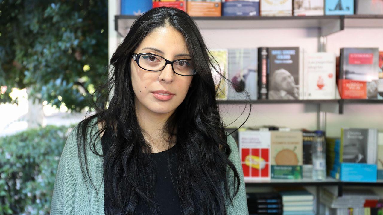 La escritora Mónica Ojeda, autora de «Las voladoras»