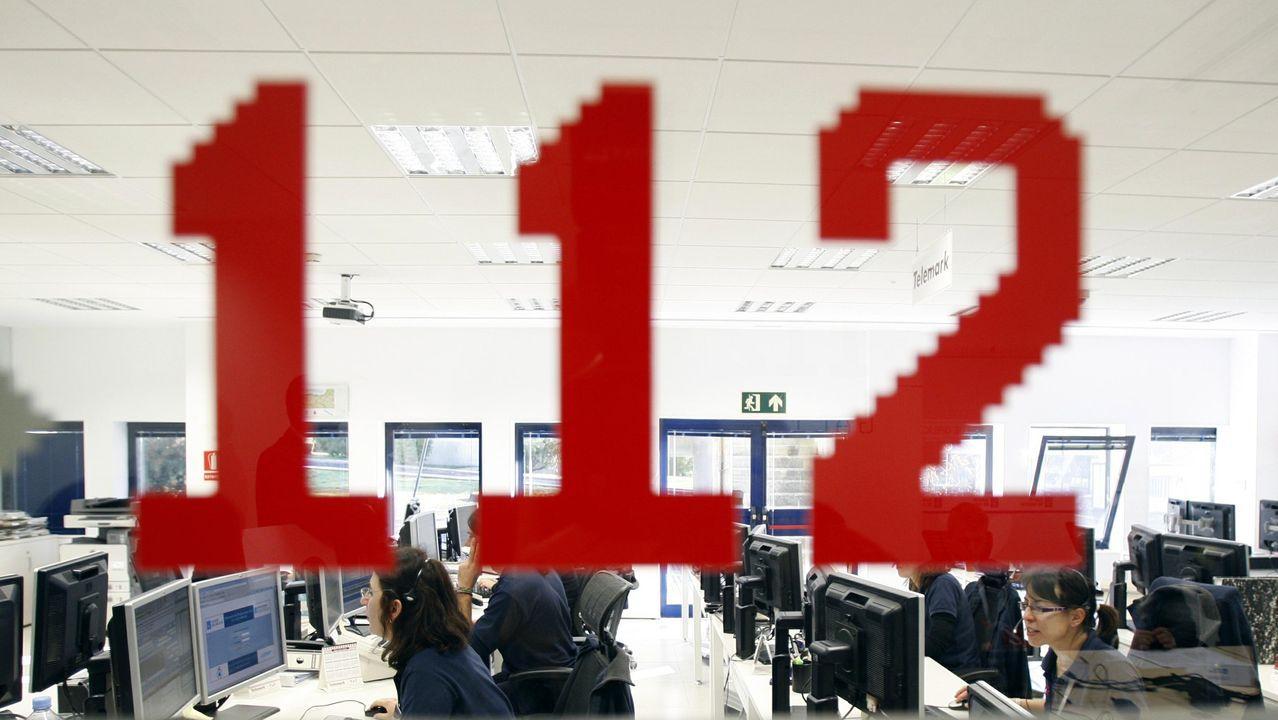 La central de emergencias del 112 en una imagen de archivo