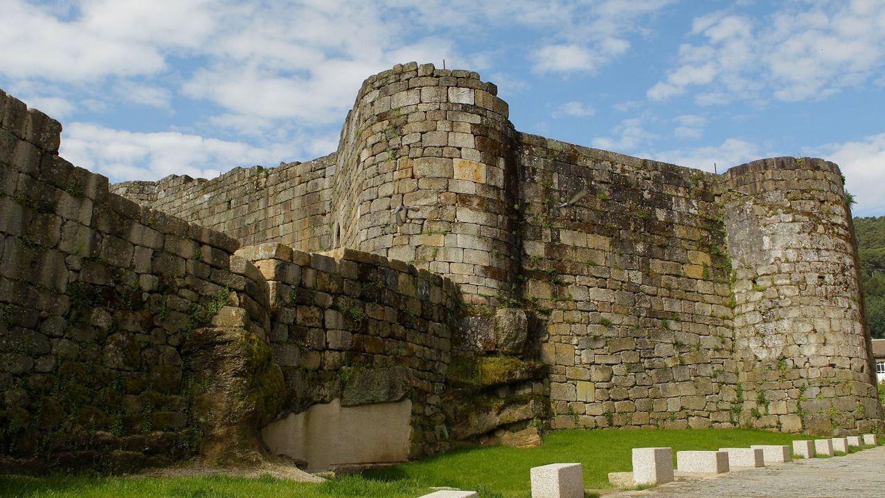 Castillo de los Condes, Ribadavia.