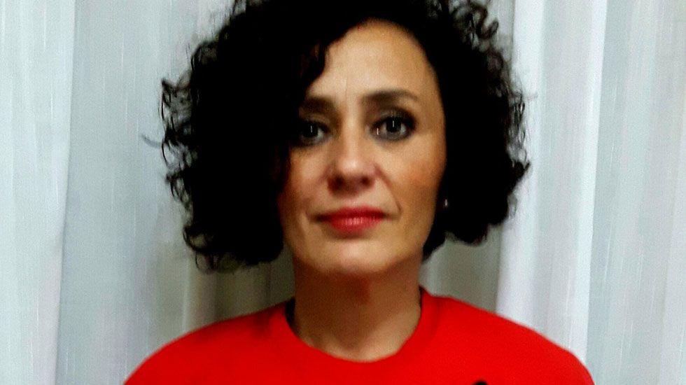 Raquel Agüeros.Raquel Agüeros
