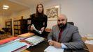 Los abogados de la madre del niño, Claudia Traba y Alejandro Zulueta