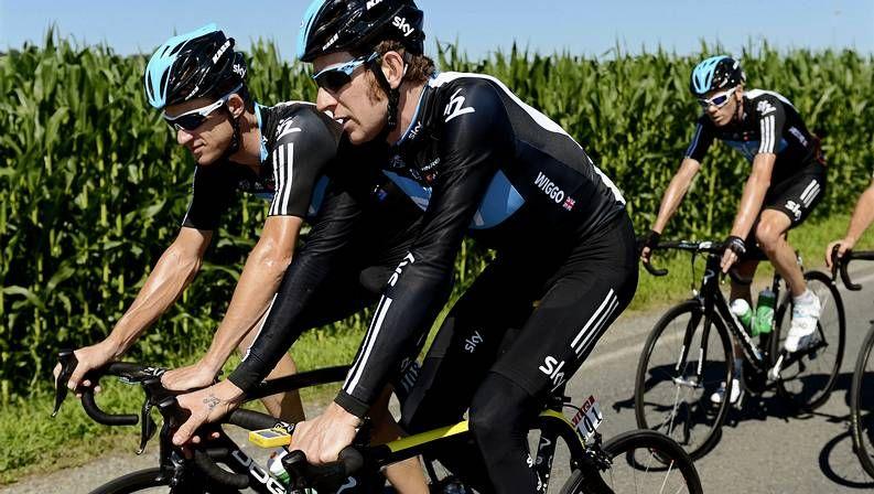 El Tour de Francia 2012.Cancellara entrena en el circuito londinense