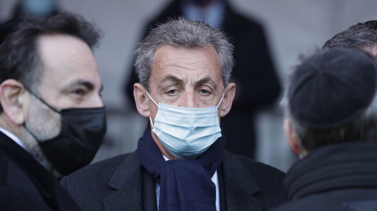 Sarkozy, el pasado día 11 de marzo en un acto en París con motivo del Día Europeo de las Víctimas del Terrorismo