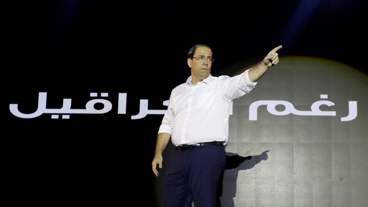 Una terna de favoritos a la que se suman también el actual primer ministro, Yusef Chahed