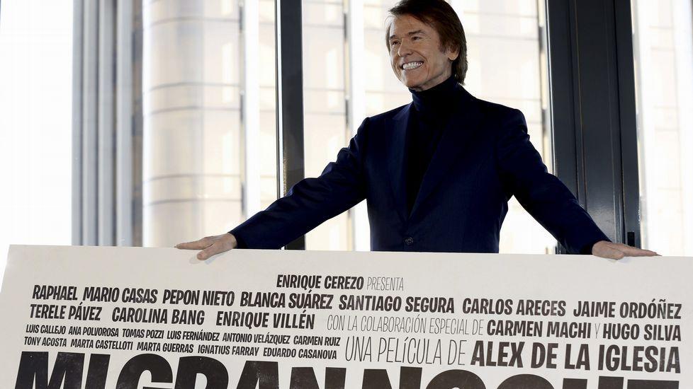 Álex de la Iglesia dirige «Mi gran noche».Raphael llega al auditorio Mar de Vigo con la gira De amor & desamor
