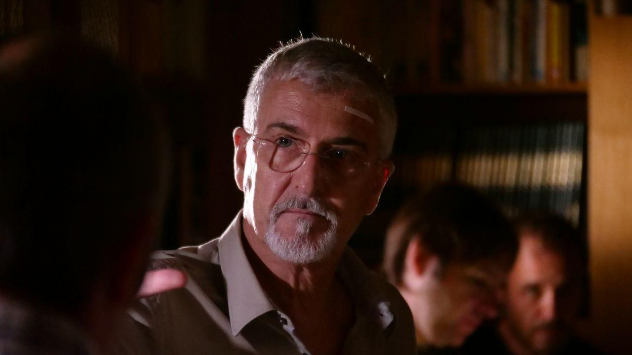 Antonio Mourelos encarna ao carismático cacique de «Serramoura»
