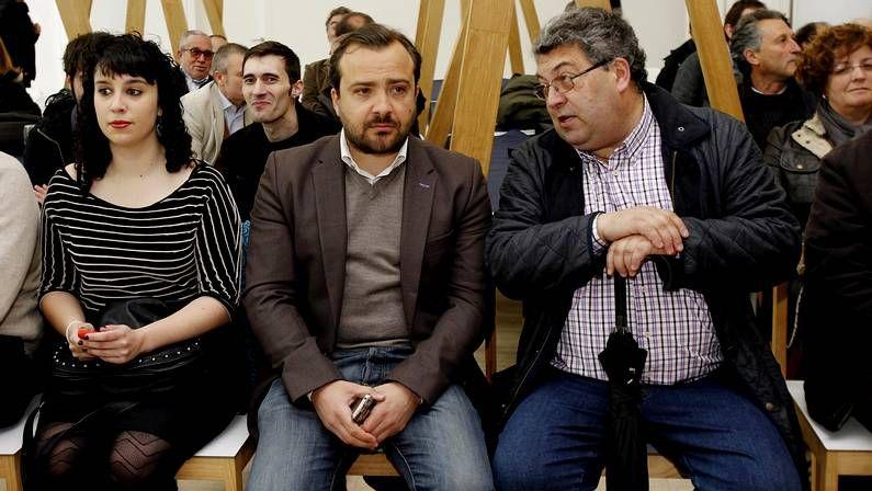 Rafa Cuiña asistió hoy en Santiago a la celebración del 20 aniversario de Esquerda Nacionalista