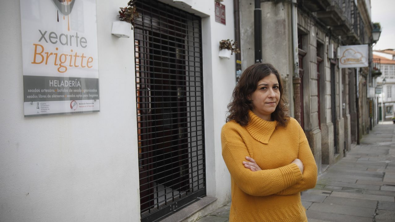 Los comerciantes agradecen el gesto.Manuel Couto cedió gratuitamente su vivienda de uso turístico a una enfermera