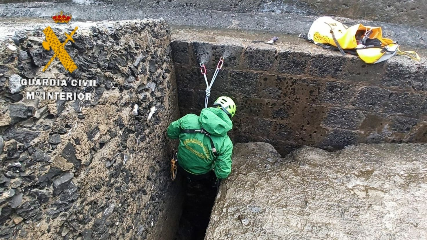 Dispositivo de búsqueda del hombre desaparecido en Muros del Nalón