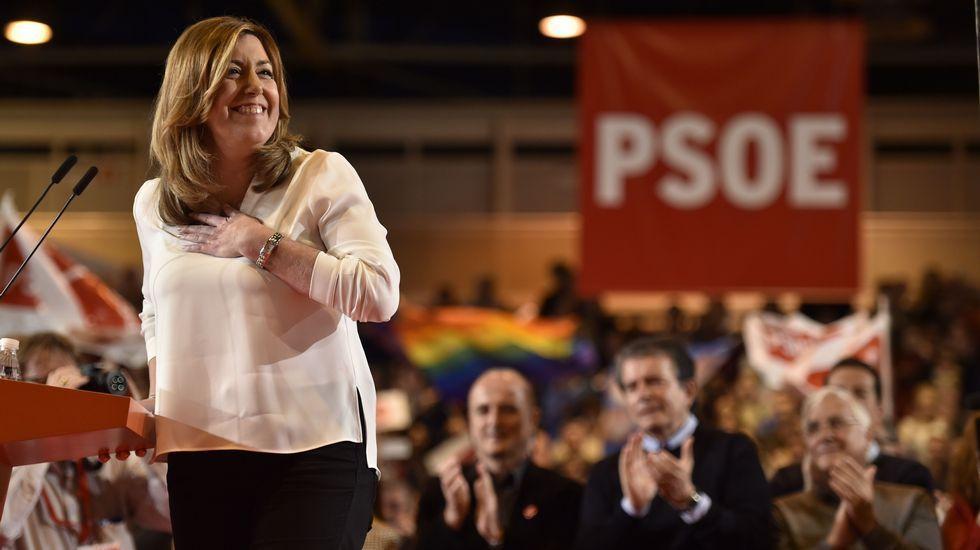 Susana Díaz: «Queremos volver a ser lo que fuimos».Visita de Francisco Franco y su esposa, Carmen Polo, a la iglesia de Santa María, San Sebastián