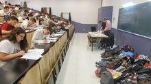 Este año no habrá mochilas amontonadas en los exámenes de selectividad