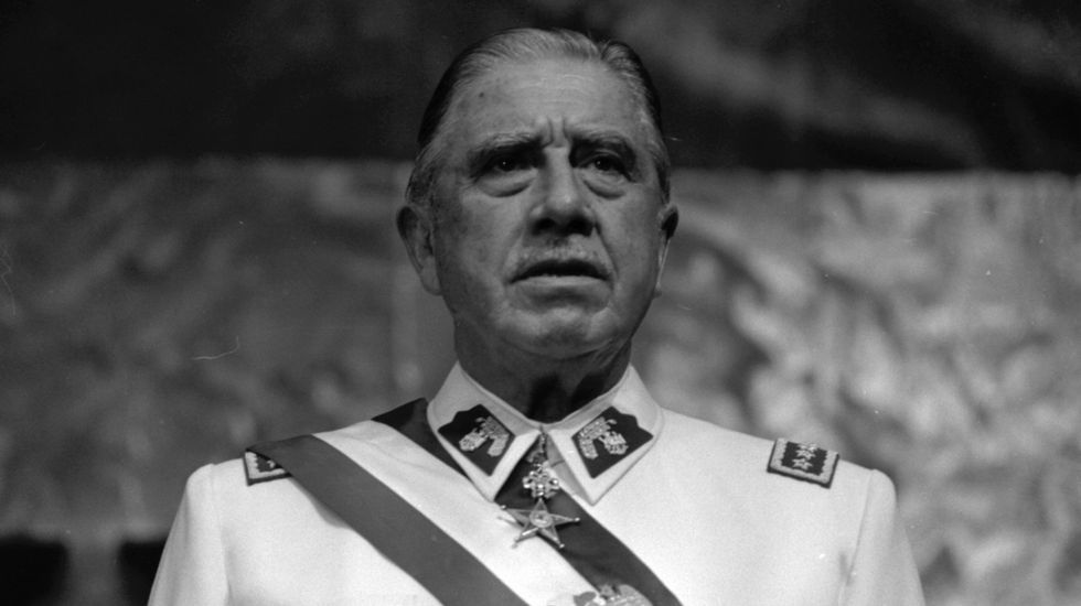 Sebastián Piñera, presidente de Chile.Pinochet